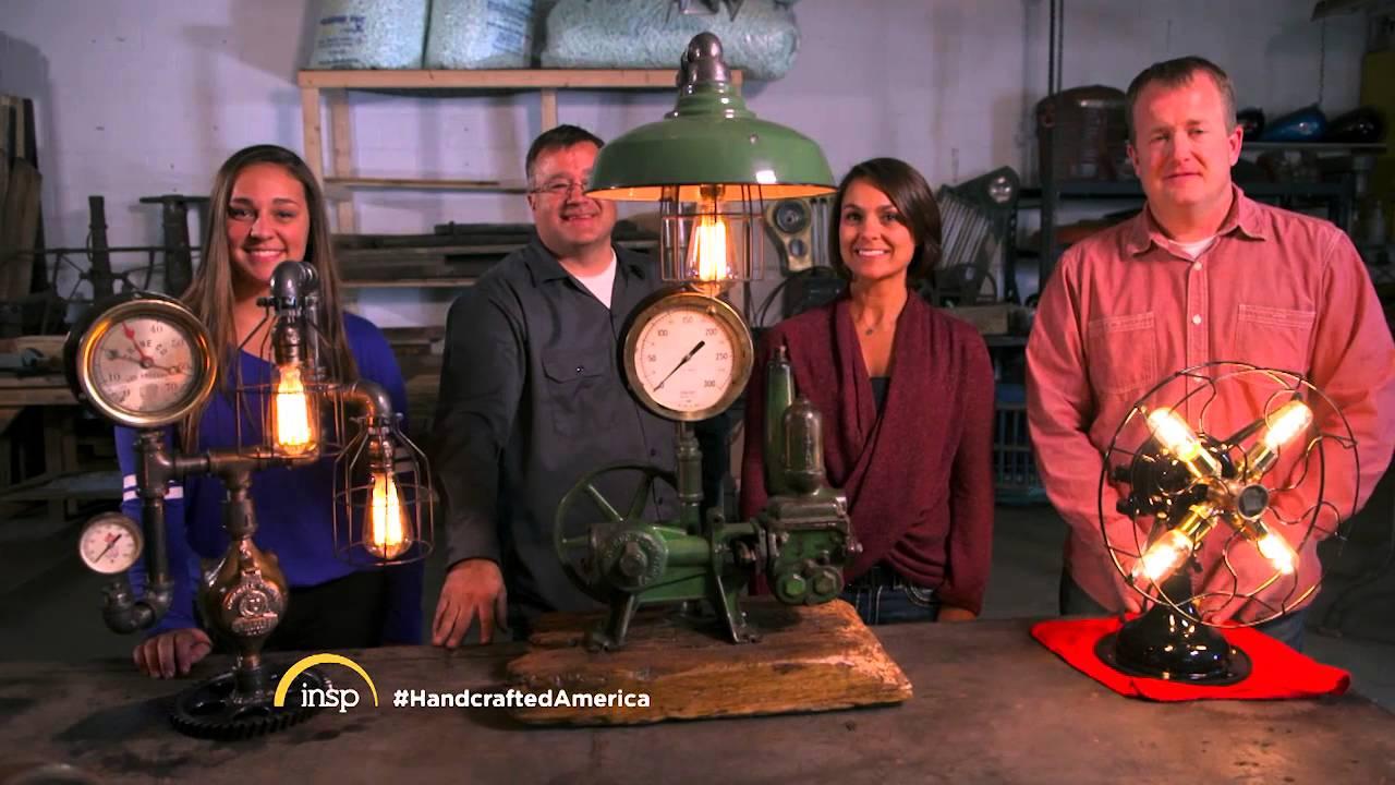 Handcrafted America U0026 Machine Age Lamps