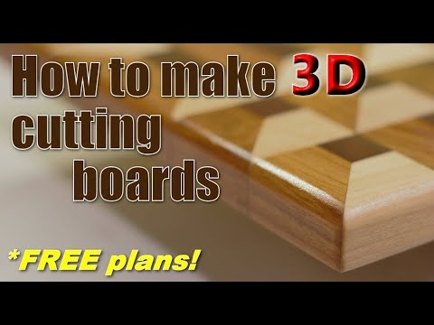 Woodworking: making 3D cutting panels (COMPLIMENTARY plans!)