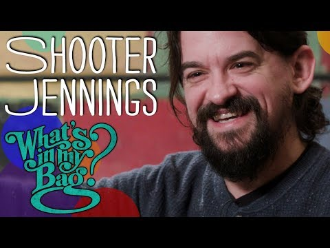 Shooter Jennings Goes Record Shopping At Amoeba Music
