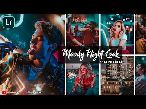 Moody Night Look Lightroom Presets Free Download ...