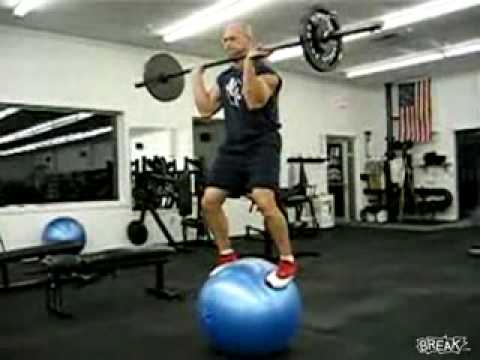 Crazy Exercise Ball Trick or is it a FAIL? - YouTube