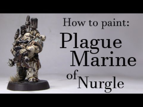 MaMTu - How to paint: Plague Marine / Seuchenmarine [dt.]