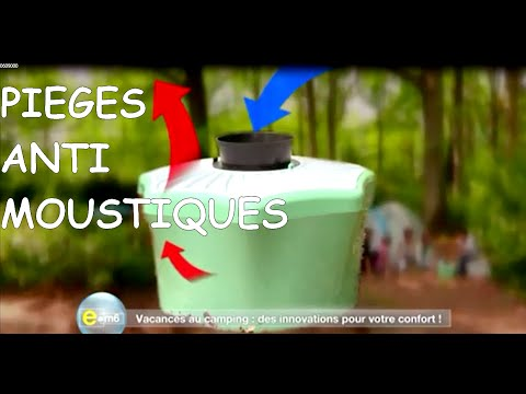 E=M6 - Reportage pièges anti moustiques super efficace et écologique