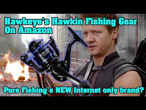 Hawkeye Is Selling Pure Fishing's New SECRET Amazon Brand. NO EXAGGERATION!