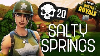SALTY SPRINGS! - Fortnite Battle Royale Gameplay