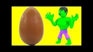 Superhero Found A Giant Easter Egg ❤ Cartoons For Kids