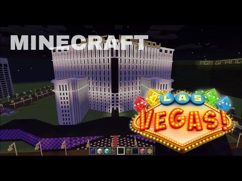 Minecraft City Las vegas project