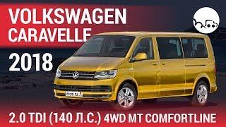 Volkswagen Caravelle 2018 2.0 TDI (140 л.с.) 4WD MT Comfortline - видеообзор