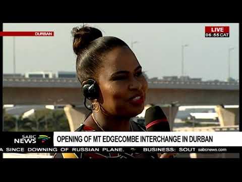 Sanral's Skhumbuzo Macozoma On Mt Edgecombe Interchange In Durban