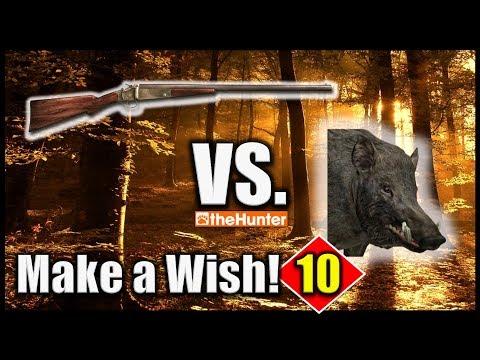 TheHunter Hunting Game - Single Shot Shotgun Vs. Wild Boar (Make A Wish 10)