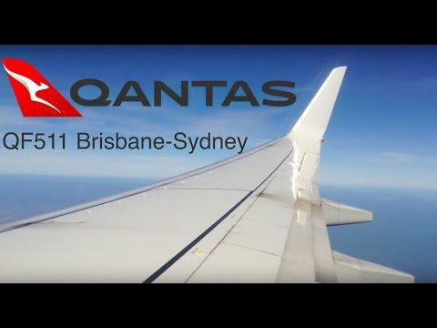 TRIPREPORT   Qantas 511 (Economy)   B737-800   Brisbane-Sydney