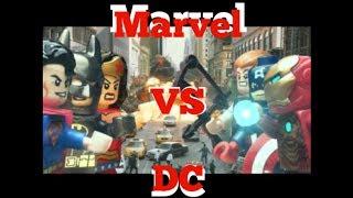 lego marvel vs dc superheroes