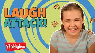 Laugh Attack! #4 | Jokes For Kids | Highlights Kids