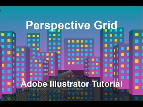 Trendy Cityscape in Adobe Illustrator | Perspective Grid Tutorial thumbnail