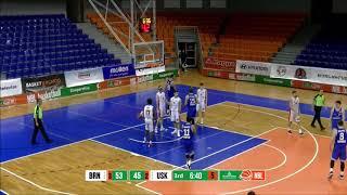 Robert Rikič a jeho smeče proti Basket Brno