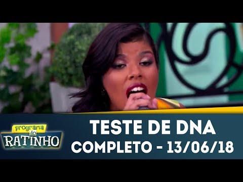 Teste De DNA - Completo | Programa Do Ratinho (13/06/2018)