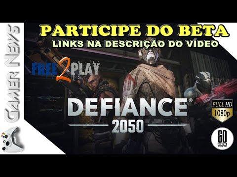 🔴 DEFIANCE 2050 - MMO SHOOTER  GRATIS COM INSCRIÇÃO PARA CLOSED BETA LIBERADO LINK NA DESCRIÇÃO
