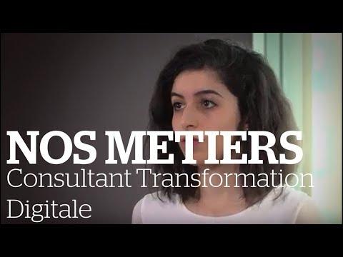 [Vidéo métier] : Consultant / Consultante Transformation Digitale