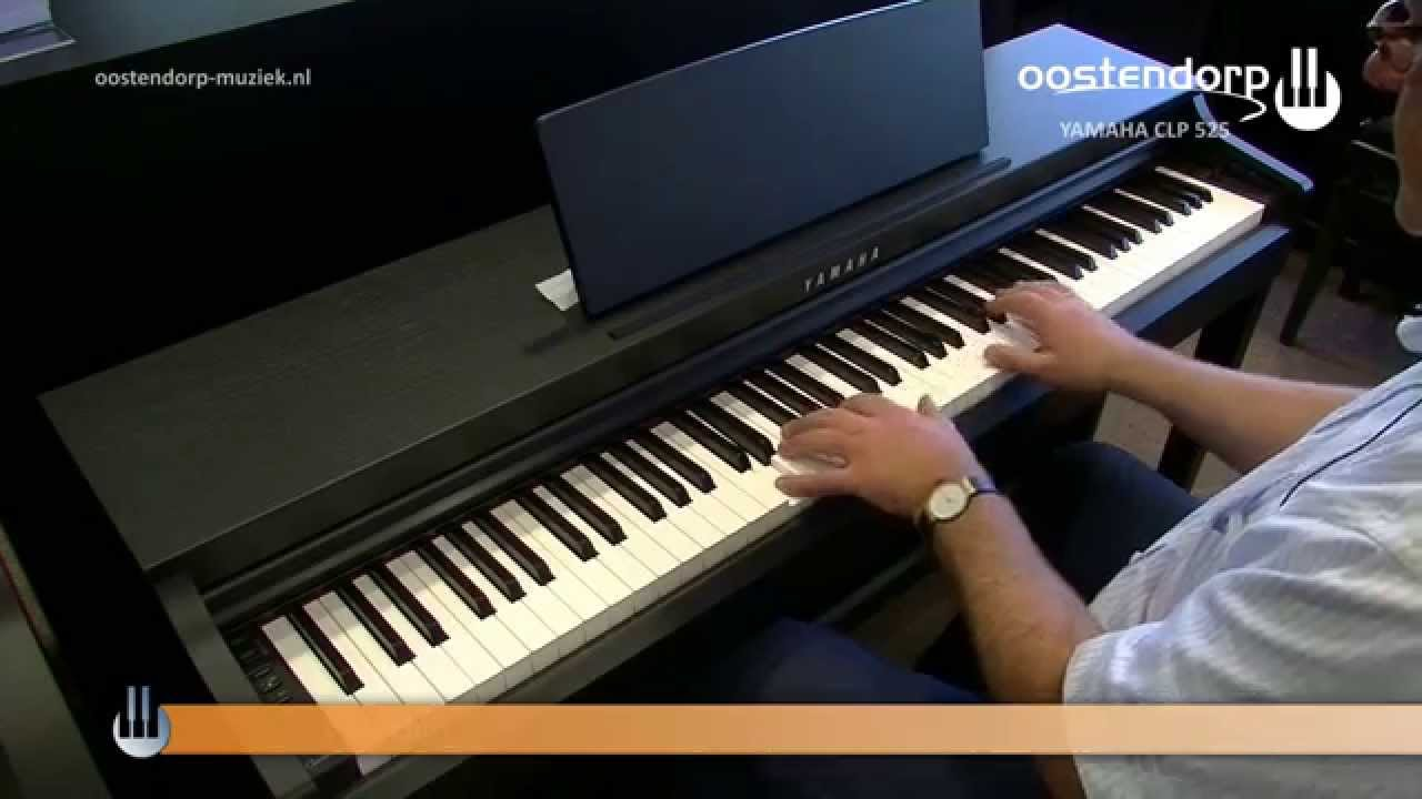 yamaha clp 525 digitale piano sounddemo youtube. Black Bedroom Furniture Sets. Home Design Ideas
