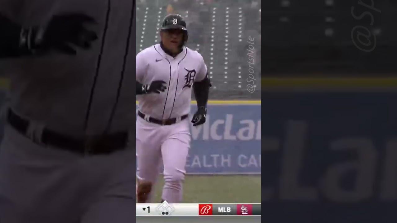Detroit Tigers' Miguel Cabrera hits home run vs. Cleveland Indians ...