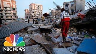 A Massive Earthquake Has Killed Hundreds In Iraq And Iran | NBC News