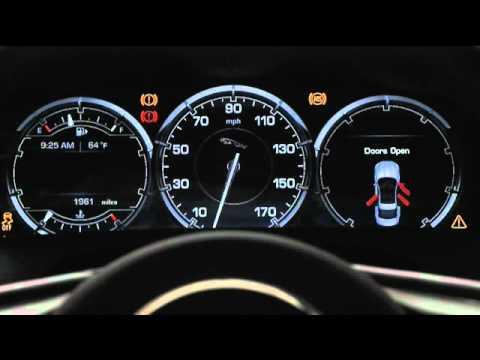 2011 Jaguar XJ - Virtual Instruments - TFT Display - Jaguar Land Rover Cincinnati