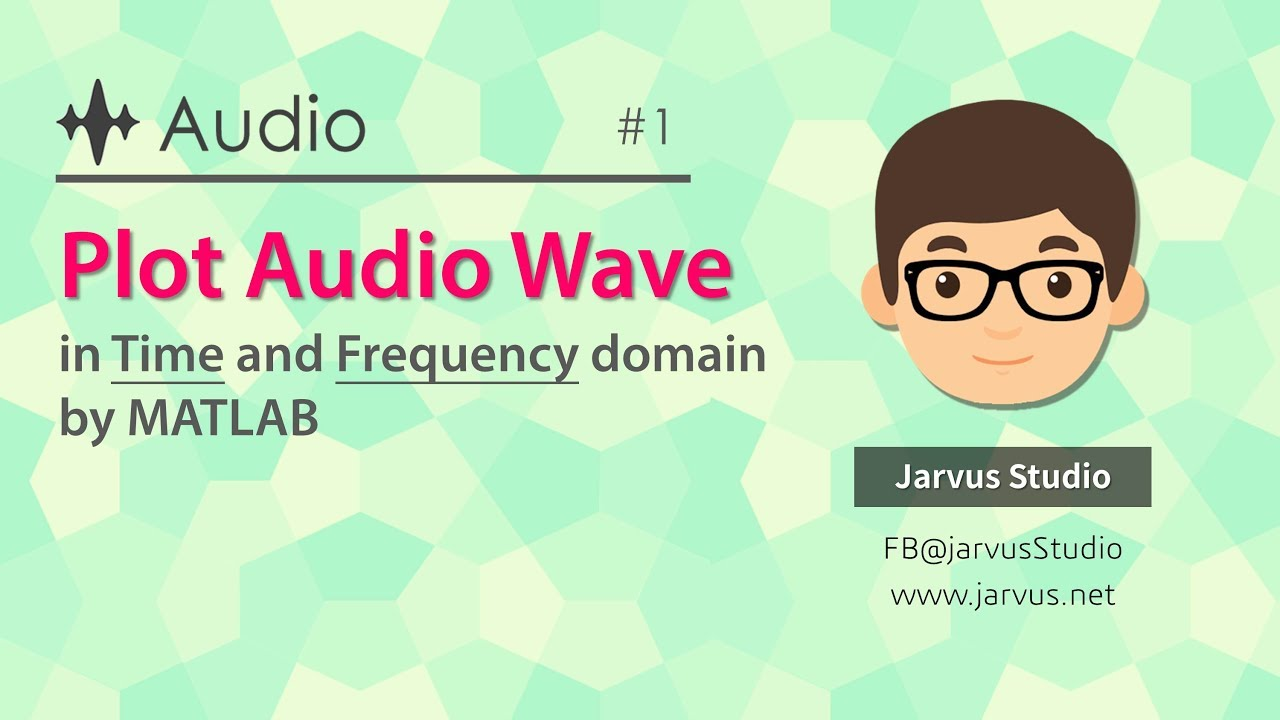 #1 Plot Audio Wave in Time and Frequency domain by MATLAB