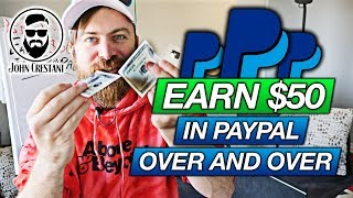 Earn $50 In PayPal Money (Again And Again And Again)