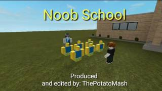 Noob School - ROBLOX Machinima