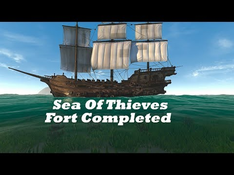Three Pirates One Fort (Sea Of Thieves)
