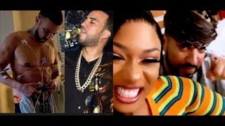 French Montana Out Hospital Caught Drinking With Drake & Megan Thee Stallion..DA PRODUCT DVD