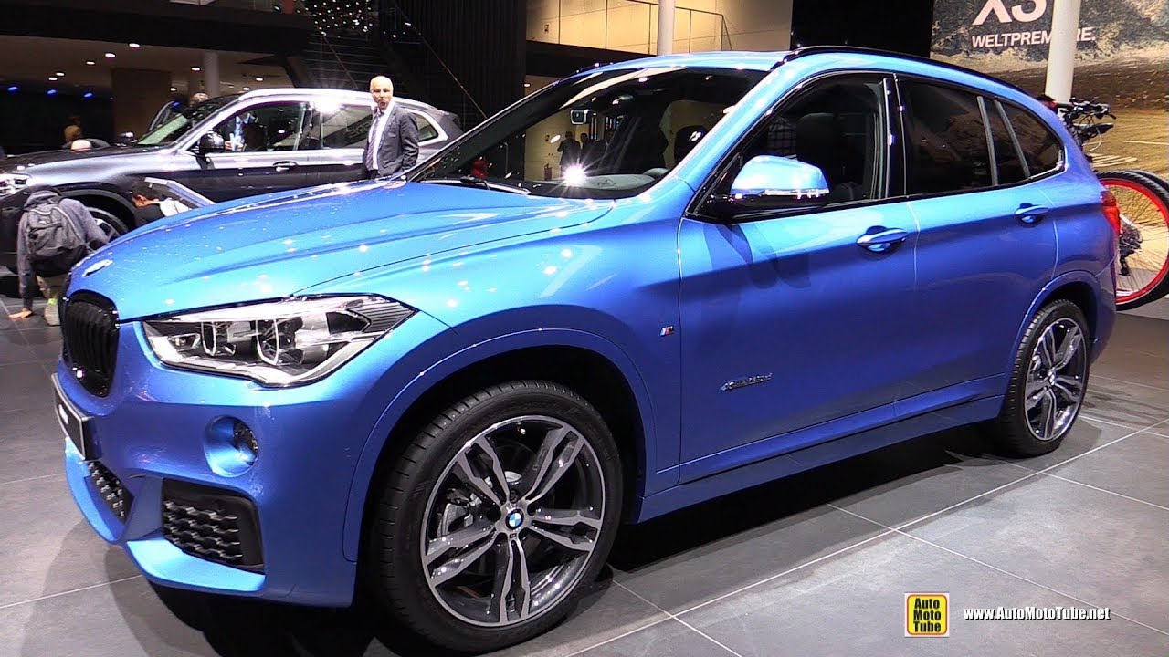 2018 bmw x1 20d xdrive m sport exterior and interior walkaround 2017 frankfurt auto show. Black Bedroom Furniture Sets. Home Design Ideas