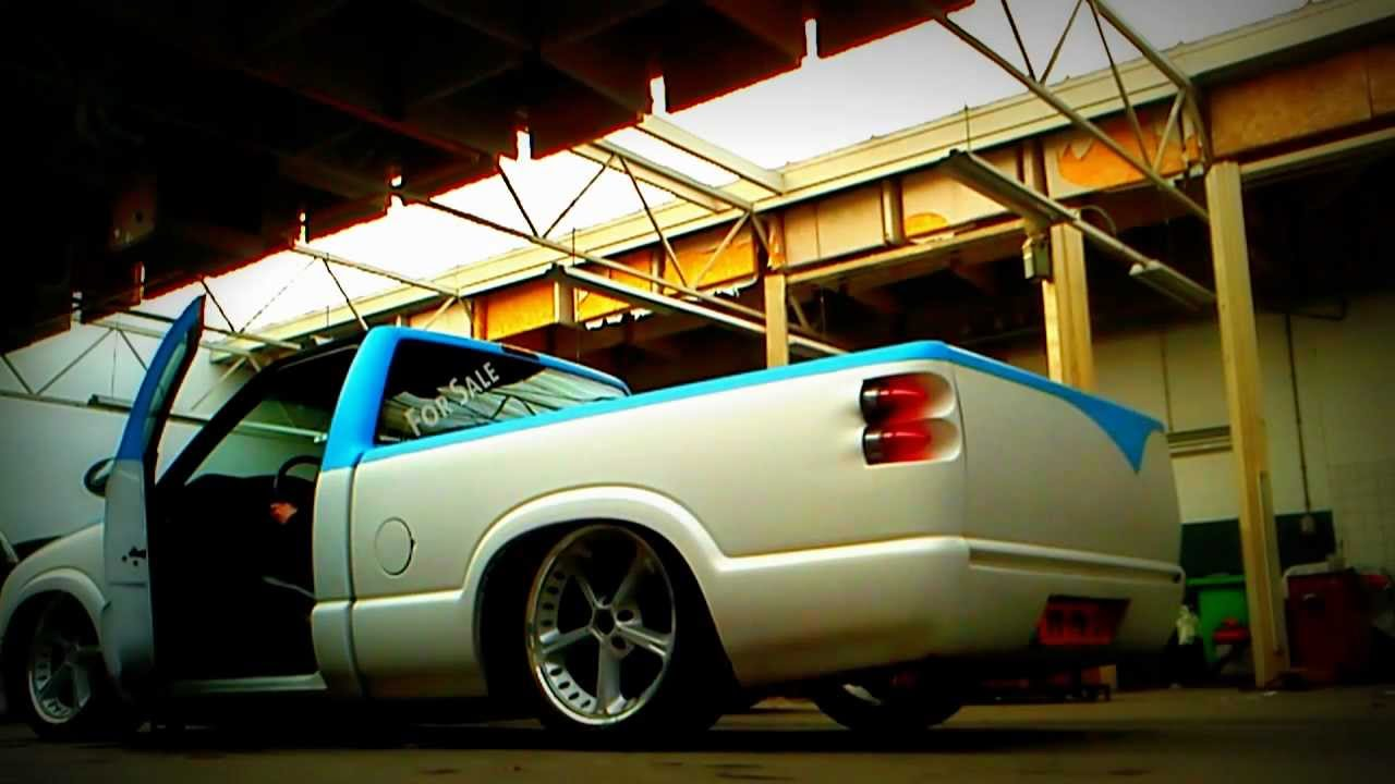 Old Chevy Cars >> Custom Chevrolet S10 on Air-ride - YouTube