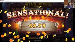 Online Casino Club - Wild West Gold - Big Win