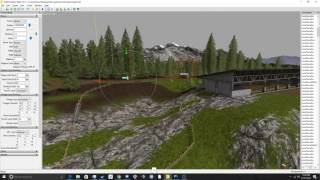 moving the goldcrest valley cow area closer to the farm in giants editor