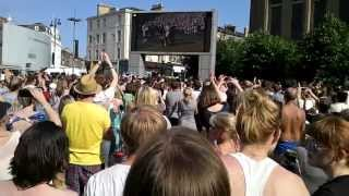 Andy Murray Winning Wimbledon - Edinburgh Reaction