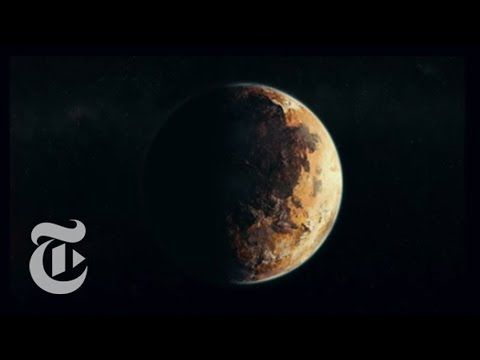 Fast and Light to Pluto | Out There | The New York Times