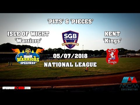 'Pits & Pieces' : Isle Of Wight 'Warriors' vs Kent 'Kings' : National League : 05/07/2018