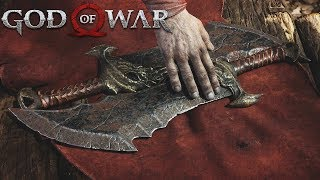 vuclip Kratos Gets The Blades of Chaos - God of War 4 (PS4 Pro) - God of War 2018