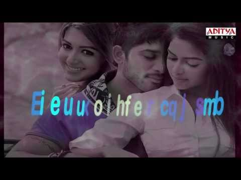 Iddarammayilatho | Top Lesi Poddi With Lyrics | Allu Arjun,Amala Paul