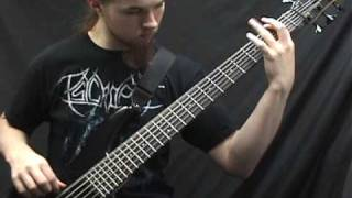 Beneath the Massacre - Condemned on bass guitar