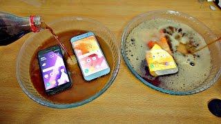 Samsung Galaxy A7 vs A3 vs A5 (2017) Coca Cola Test! (4K)