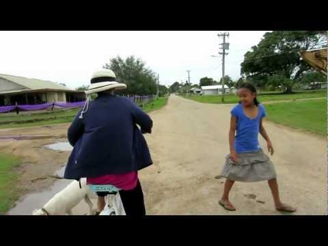 Bike ride through Ha'apai Tonga