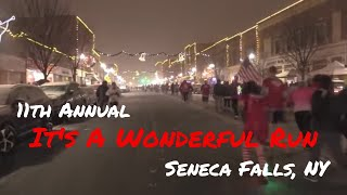 11th Annual It's A Wonderful Run Official Race Video .::. FingerLakes1.com 12/14/19