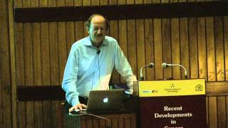 Recent Developments in Cancer Research - Dr. Harold Varmus at NII, New Delhi