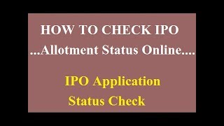 Avenue Supermarts IPO (D-MART)Allotment Status Check Online [TOP RATED][HINDI]