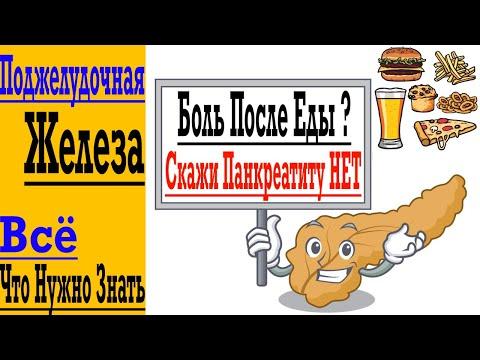Панкреатит и Боль После Еды - Лечим Поджелудочную Железу Без Лекарств !
