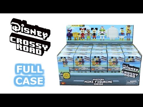 Disney Crossy Road Series 1 Blind Box Full Case Unboxing Moose Mineez Opening Entire Case