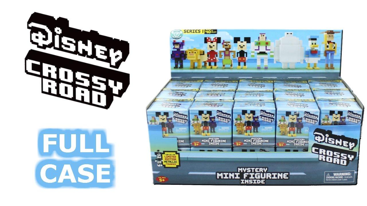 Disney Crossy Road Series 1 Blind Box Full Case Unboxing