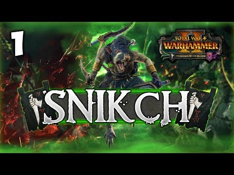 THE DEATHMASTER UNLEASHED! Total War: Warhammer 2 - Clan Eshin Mortal Empires Campaign - Snikch #1